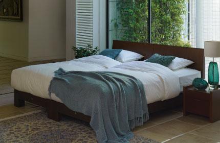 シモンズのベッド・マットレスの例