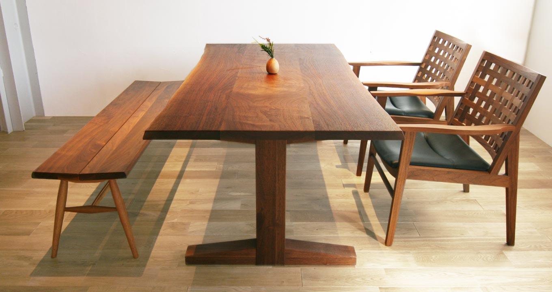 オーダーテーブルの参考モデル1(ダイニングテーブル)