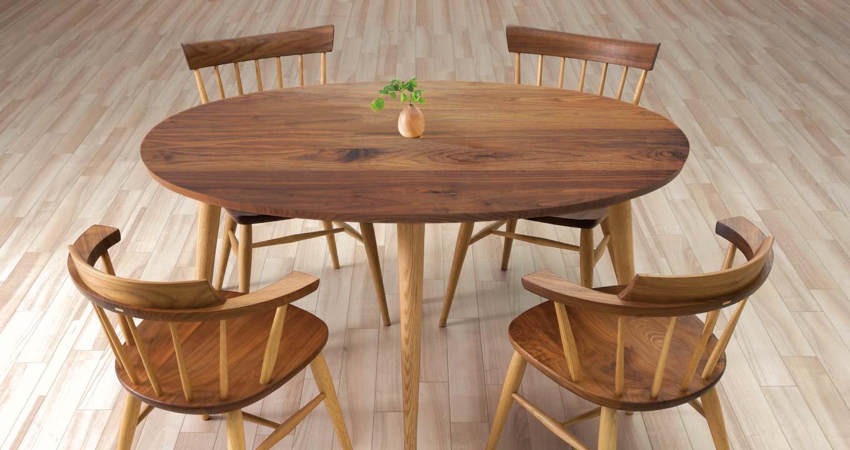 オーダーテーブルの参考モデル2(ダイニングテーブル)